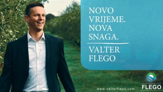 HDZ ukrao slogan Valteru Flegu, kandidatu IDS-a za istarskog župana