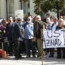 Prosvjed ''Raskinimo vatikanske ugovore''  na Cvjetnom trgu
