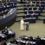 FRANCE EU POPE FRANCIS VISIT