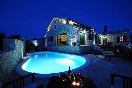 Golemova luksuzna kuća u Lisičiću kod Benkovca