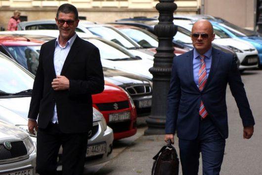 Reno Sinovčić i odvjetnik Andrej Korljan