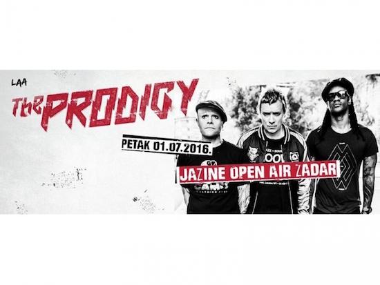 POČELE PRIPREME The Prodigy nastupit će na Jazine Open Airu u petak, 1. srpnja