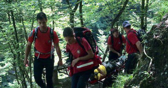 NK PAKLENICA HGSS spasio muškarca koji se otrovao na nepristupačnom terenu