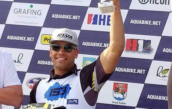 ANTHONY RADETIĆ Veteran američke vojske hrvatskih korijena na Aquabike Grand Prixu za X-Team osvojio prvo mjesto za UIM europski prvak!