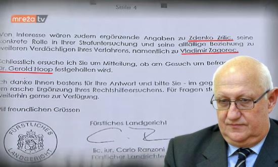 NECENZURIRANO U dokumentima istrage suda u Lihtenštajnu vezano uz pranje novca terete se Vladimir Zagorec i Zdenko Zrilić! (VIDEO)