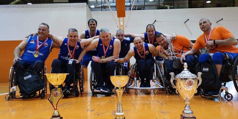 Iza Košarkaškog kluba osoba s invaliditetom Zadar uspješna sezona