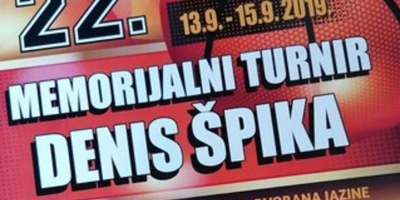 22. Memorijalni košarkaški turnir Denis Špika