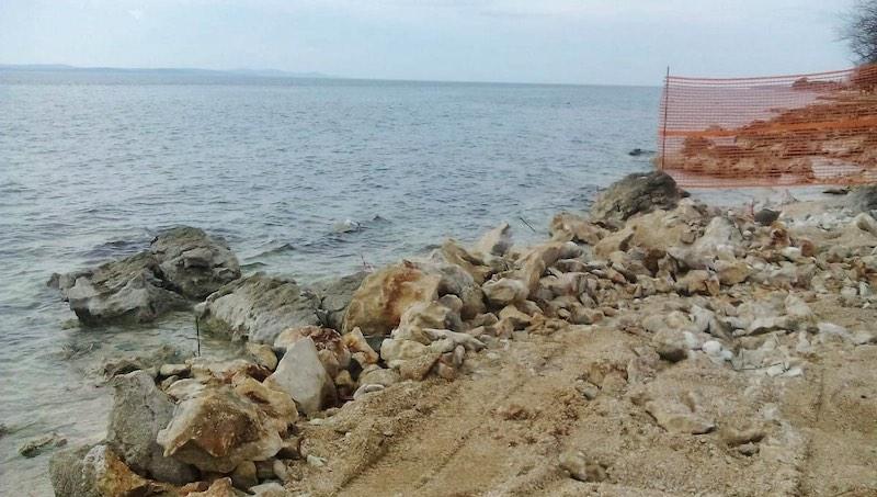 MARJANA BOTIĆ ZBOG RADOVA U DIKLU Tražim hitno zaustavljanje devastacije obale i inspekcijski nadzor!