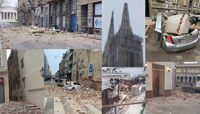 Strasan Potres U Zagrebu Vojska Na Ulicama Dijete Kriticno Zadardanas Hr