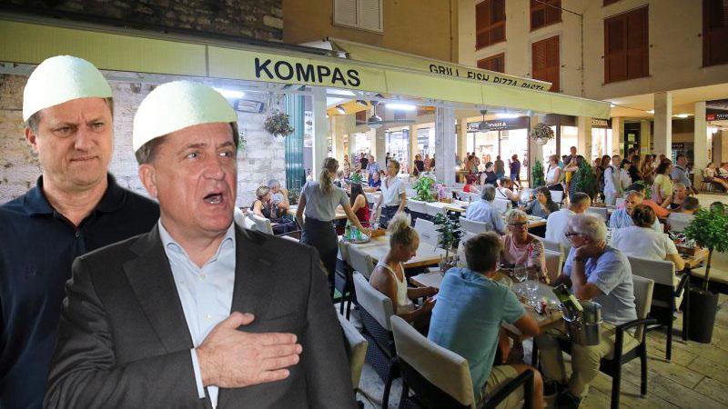 GRADSKA VLAST PRODALA ZADAR Većinu poslovnih prostora dali su Albancima za šaku eura