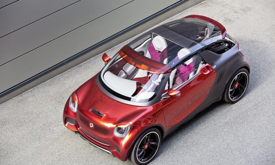 SMART SUV NA STRUJU Hoće li ovaj 'smart forstars' koncept iz 2012. biti predložak?