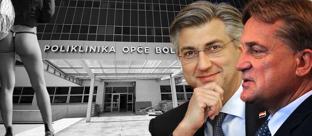 PROSTITUTKE I KOKAIN PLAĆAJU IZ PRORAČUNA Plenkoviću, koliko si dobio od opljačkanih zadarskih projekata?