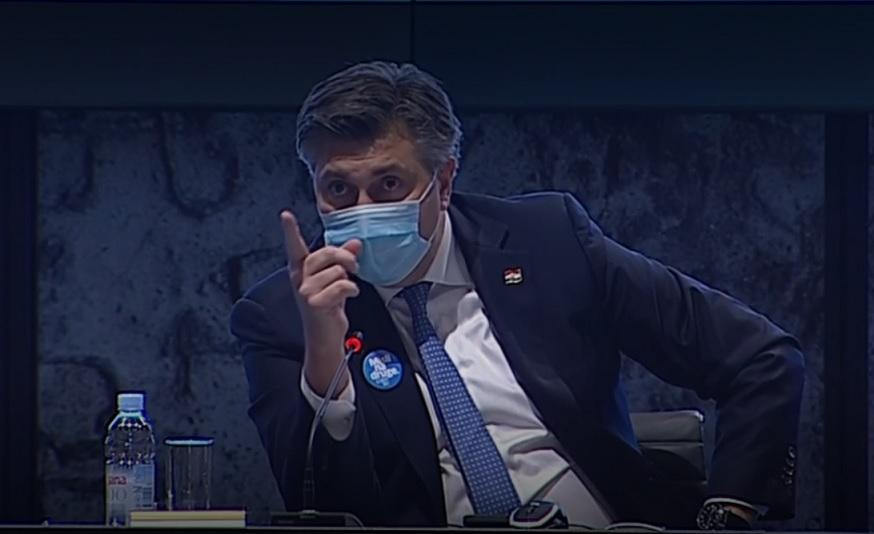 NEČUVENO! Pogledajte kako Plenković prijeti medijima, moraju objavljivati što on želi!