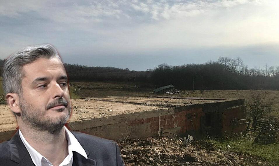 """RASPUDIĆ: """"Ovo je ostalo od kuće koja je izgrađena pod budnim okom HDZ-ovog župana Ive Žinića"""""""