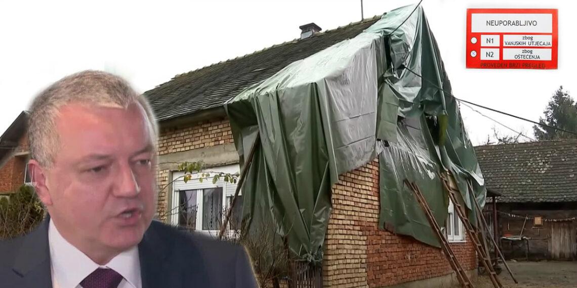 """TROJANAC: """"Ministar Horvat želi brzo srušiti sve kuće sa crvenom oznakom da bi sakrio kriminal u obnovi"""""""